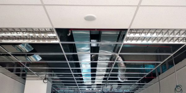 suspended ceilings image - Suspended ceiling suppliers - complete interior services
